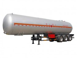 56 CBM 3 axles CNG tanker trailer