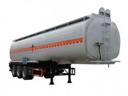 50 CBM tri-axle carbon steel fuel tanker trailer